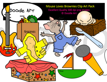 Mouse Loves Brownies
