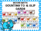 Mouse Math Clip Card Bundle