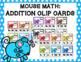 Mouse Math Clip Card Bundle