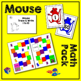 Mouse Count Math Pack - 3 Math Centers for Early Learners