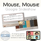 Mouse, Mousie Google Slideshow: Singing game and teaching