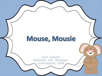"""Mouse, Mousie: a PDF/PowerPoint for teaching """"do"""""""