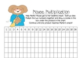 Mouse Multiplication Fact Families 1-6