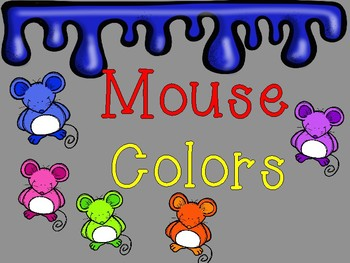 Mouse Paint Activities