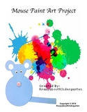 Mouse Paint Art Project and Activity