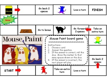 Mouse Paint Board Game