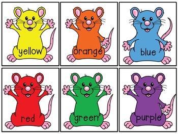 Mouse Paint Color Mixing Unit for Kinder