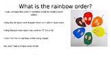 Mouse Paint Color Wheel {MrsBrown.Art}
