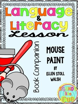 Language and Literacy Lesson: Mouse Paint