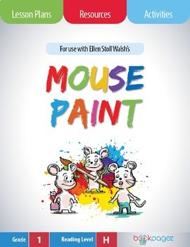 Mouse Paint Lesson Plans & Activities Package, First Grade (CCSS)
