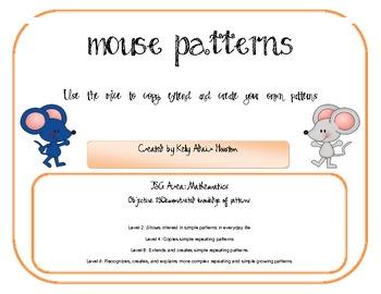 Mouse Paint Patterns by Kelly Houston | Teachers Pay Teachers