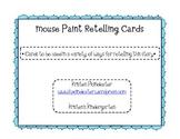 Mouse Paint Retelling Cards