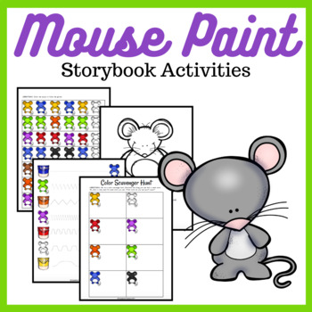 Mouse Paint Storybook Activities