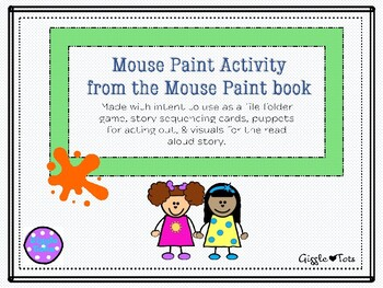 Mouse Paint printable activities