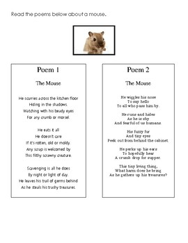 Mouse Poetry - Connotation and Denotation