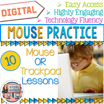 Mouse Practice Lessons for Laptops and Desktop Computers