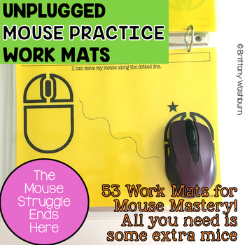 UNPLUGGED Mouse Practice Work Mats for Beginners