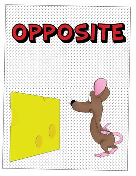 Mouse Prepositions of Place Posters - Printable Posters