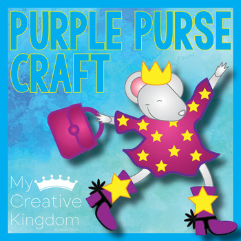 Lilly's Purple Plastic Purse Kevin Henkes Book Inspired Craft