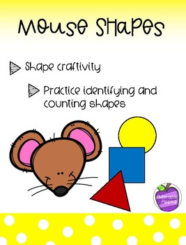 Mouse Shapes Craftivity