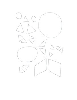Mouse Shapes Center Book