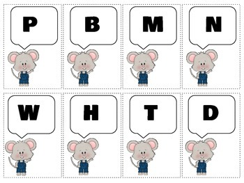 """Mouse Speak"": A Universal PreK ARTICULATION Companion for all ""Mouse"" books"