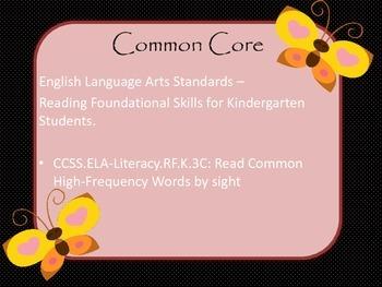 {Mouse Theme} PreK and Kinder. Pre-Primer Word Set- Simple Freebie
