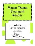 Mouse Theme Shape Emergent Reader