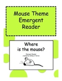 Mouse Theme Shape Emergent Reader