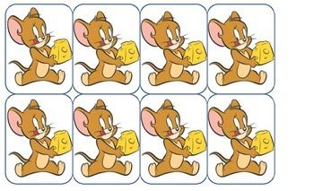 Mouse Trap: A CVC Card Game with Tom and Jerry