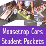 Mouse Trap Cars Student Packet - STEM Challenge