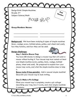 Mouse Trap STEM Activity