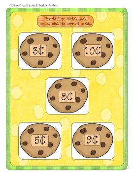 Mouse Wants a Cookie! - Kindergarten - Money - File Folder Game