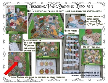 Mouse With A Cookie Sensory Table/Tub Activity Pack for A to Z and 1-10!