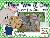 Mouse With A Cookie Sensory Table/Tub Activity Pack for A