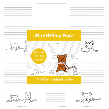 Mouse Writing Paper