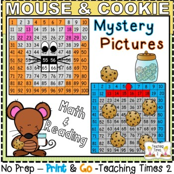 If You Give a Mouse a Cookie Hundreds Charts Hidden Pictures