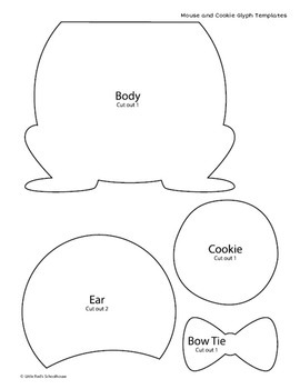 Mouse and Cookie Math Activity - Glyph Craft with Worksheets by ...