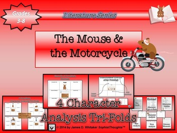 Mouse and the Motorcycle Beverly Clearly Character Analysis Tri-Folds