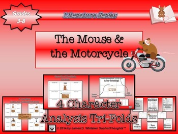 Mouse and the Motorcycle Beverly Cleary Activity Bundle
