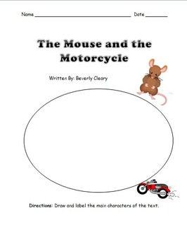 Mouse and the Motorcycle Book Unit