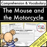 The Mouse and the Motorcycle: Comprehension and Vocabulary by chapter