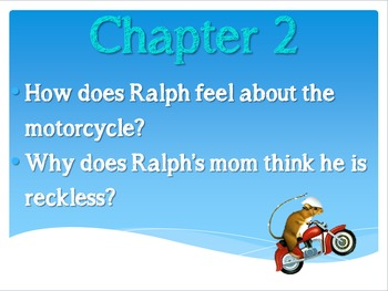 Mouse and the Motorcycle Reading Response Prompts