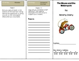 Mouse and the Motorcycle Trifold Chapters 1-4