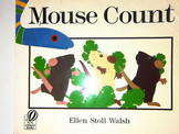 Mouse count Smartboard Activity for Kindergarten