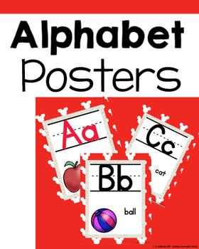 Disney inspired ALPHABET POSTERS version 1