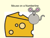 Mouse on a Number line Smartboard Resource