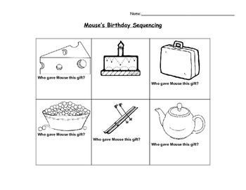 Mouse's Birthday Sequencing