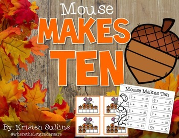 Mouse's Fall Ten Frames