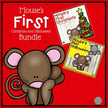 Mouse's First Halloween and Mouse's First Christmas Bundle